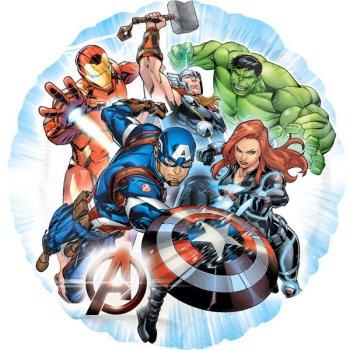 Ballon à Plat Avengers Rassemblement