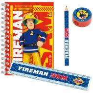 5 Sets Papeterie Sam le Pompier Fireman