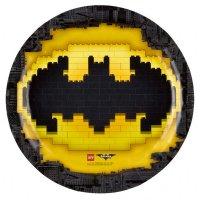 Contient : 1 x 8 Assiettes Lego Batman