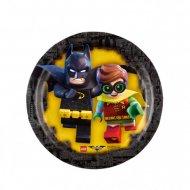 8 Petites Assiettes Lego Batman