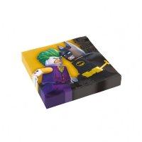 Contient : 1 x 20 Serviettes Lego Batman