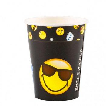 8 Gobelets Emoji Black