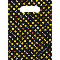 Contient : 1 x 8 Pochettes Cadeaux Emoji Black