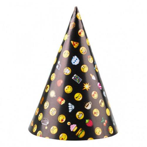 8 Chapeaux Emoji Black