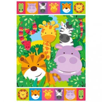 8 Pochettes Cadeaux Amis de la Jungle
