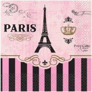16 Petites Serviettes Paris Rétro