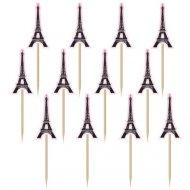 36 Pics Déco Tour Eiffel (6 cm)