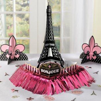 Set Déco de Table Paris rétro