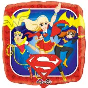 Ballon à Plat Super Hero Girls