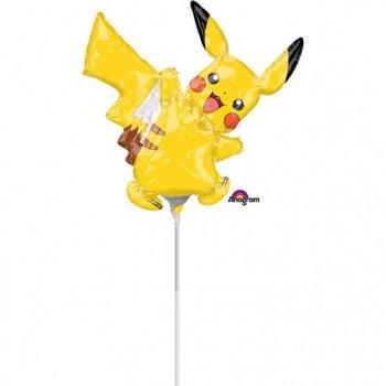 Ballon sur Tige Pikachu Pokemon (29 cm)