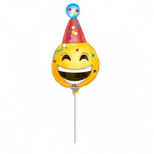 Ballon sur Tige Emoji Party