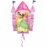 Ballon Géant Château Princesses Disney (88 cm)