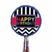 Pull Pinata Happy Birthday Graphic (45 cm)