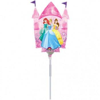 Ballon sur Tige Château de Princesses Disney