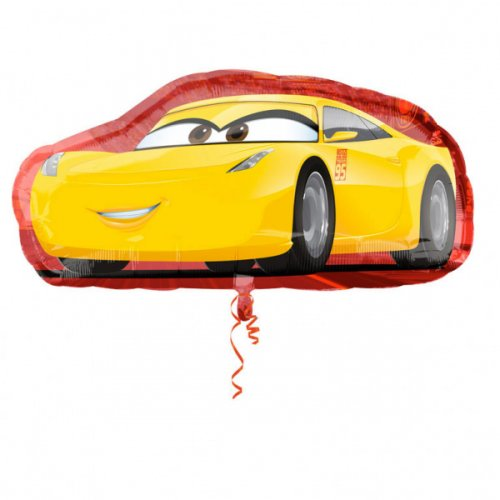 1 Ballon Géant Double design Cars 3 (88 cm)