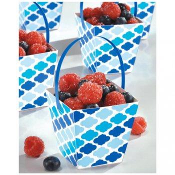 24 Paniers à Bonbons Nuages Bleus Snacky