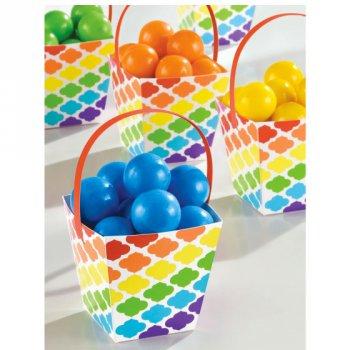 24 Paniers à Bonbons Nuages Rainbow Peppy