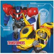 20 Serviettes Transformers RID