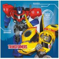 Contient : 1 x 20 Serviettes Transformers RID