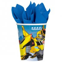 Contient : 1 x 8 Gobelets Transformers RID