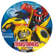 8 Assiettes Transformers RID
