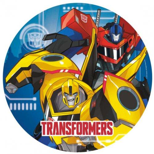 8 Assiettes Transformers RID