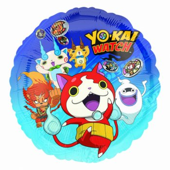 Ballon Hélium Yo Kai Watch (43 cm)