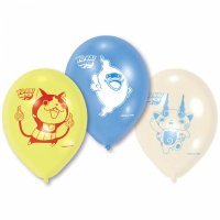 Contient : 1 x 6 Petits Ballons Yo Kai Watch