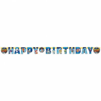 Guirlande Happy Birthday Yo Kai Watch (2 m)