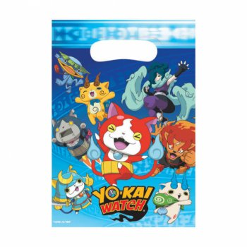 8 Pochettes Cadeaux Yo Kai Watch