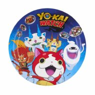 8 Assiettes Yo Kai Watch
