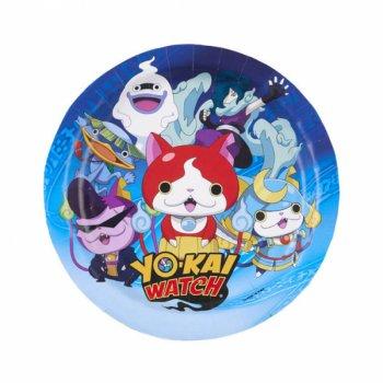 8 Petites Assiettes Yo Kai Watch