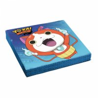 Contient : 1 x 2 Serviettes Yo Kai Watch