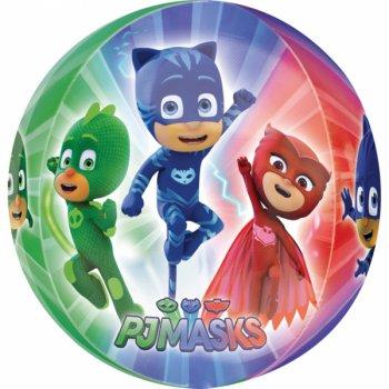 Ballon Orbz à plat Pyjamasques