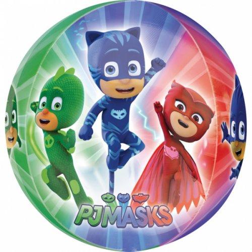 Ballon Orbz Gonflé à l Hélium Pyjamasques