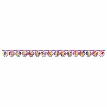 Guirlande Happy Birthday Shimmer et Shine