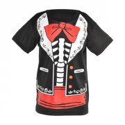 Tee-Shirt Dia de Muertos (Calavera) - Taille 8/10 ans