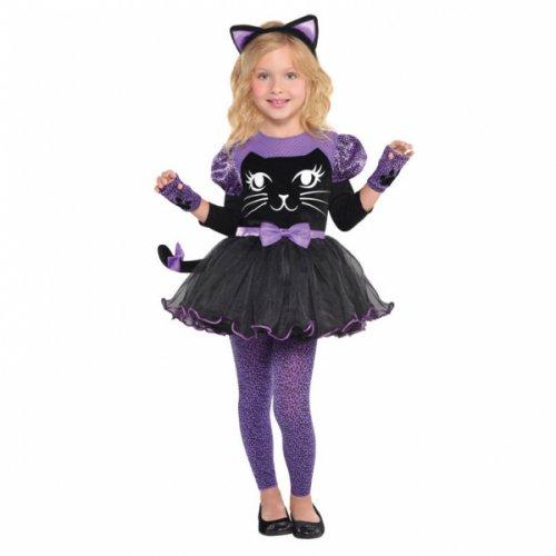 Déguisement de Chat Noir/Violet 3-4 ans