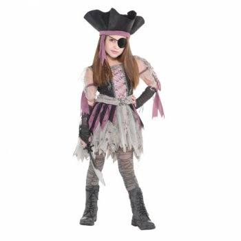 Déguisement Miss Pirate Zombie