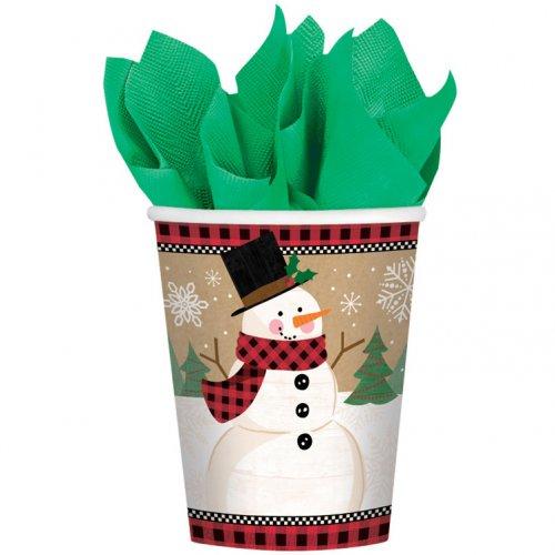 8 Gobelets Merveilleux Noël