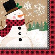 16 Serviettes Merveilleux Noël