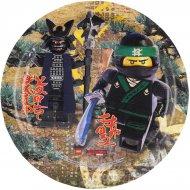 8 Assiettes Lego Ninjago