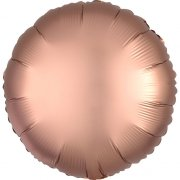 Ballon Disque Satin Rose Gold (43 cm)