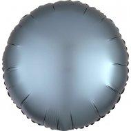 Ballon Disque Satin Bleu Perle (43 cm)