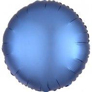 Ballon Disque Satin Bleu Azur (43 cm)