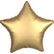 Ballon Etoile Satin Or (48 cm)