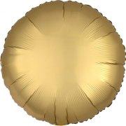 Ballon Disque Satin Or (43 cm)