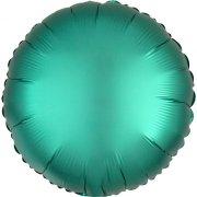 Ballon Disque Satin Vert Jade (43 cm)