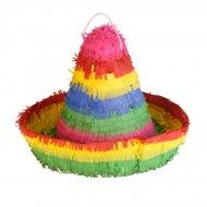 Pinata Sombrero Mexicolor (33 cm)