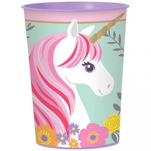 Gobelet Plastique Licorne Magique